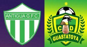 Antigua GFC vs Guastatoya EN VIVO