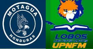 Motagua vs Lobos UPNFM EN VIVO
